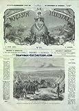 MAGASIN ILLUSTRE (LE) [No 84] du 06/06/1868 – LE CAMP DE SAINT-MAUR – LES PLAISIRS DE L'ETE – LES CURIOSITES DE LA CHINE – TYPES ET THEATRES CHINOIS –