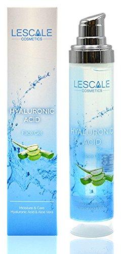 Hyaluron-Säure Gel mit Aloe Vera 50 ml. VEGANES Hyalurongel I Hyaluron-Konzentrat ohne Tierversuche...