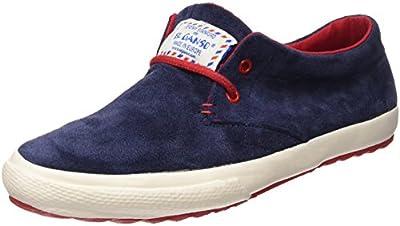 El Ganso New Model Dark Blue Suede   - Zapatillas para hombre