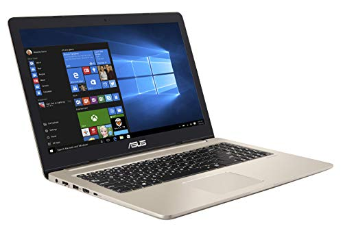 ASUS VivoBook Pro 15 N580VD 90NB0HX1-M02520 Notebook (39,6 cm, 15,6 Zoll, FHD, WV, Matt, Intel Core i7-8750H, 8GB RAM, 256GB SSD, 1TB HDD, NVIDIA GeForce GTX 1050 (4GB), Windows 10) gold metal 15,6-zoll-entertainment-notebook-pc