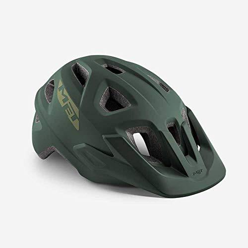 MET Echo Helm Army Green Kopfumfang M/L | 57-60cm 2019 Fahrradhelm