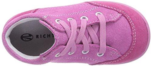 Richter Kinderschuhe Mini 0022-521 Baby Mädchen Krabbelschuhe Pink (fuchsia/lollypop   3501)