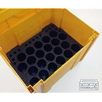 Tanos - Organizador de tubos de silicona para sistema Systainer Classic tamaños 4 y 5