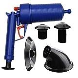 Savingplus aria pompa di scarico Blaster Sturalavandini tubo WC bagno blocco Remover Unblocker