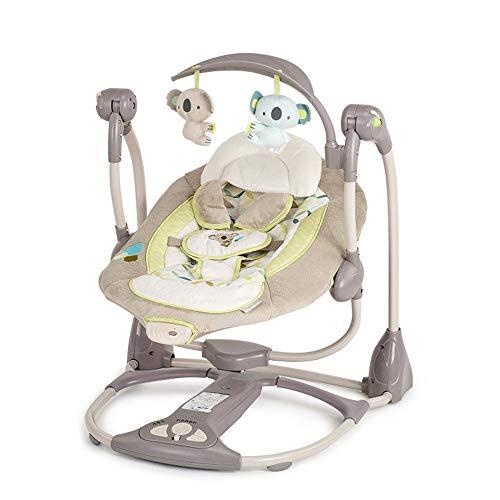 Tcaijing Babyschaukel Kind schläft Artefakt Neugeborenes Baby Wiege elektrische Komfort-Sitzbank-Bett