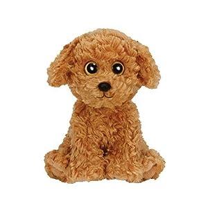 Ty Luke Perro de Juguete Felpa Marrón - Juguetes de Peluche (Perro de Juguete, Marrón, Felpa, 3 año(s), Perro, Niño/niña)