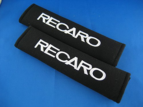 global-accessorie-imp878-recaro-embroidered-seat-belt-seat-shoulder-cover-pads