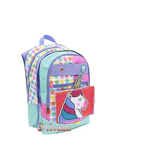 Zaino bambina scuola go pop estensibile 5 in 1 dreamer girl unicorno 31x43x18 cm