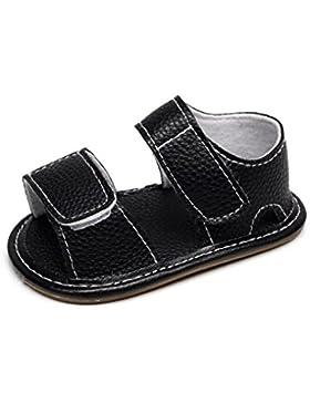 Babyschuhe Premium Weich Leder Kinder Braun Sandalen Jungen 3-24 Monate