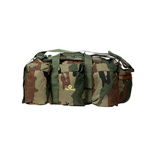 Olive Gecko Duffel Travel/ Cricket Bag