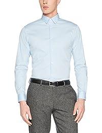 SELECTED HOMME Herren Businesshemd Shdonephil Shirt Ls Noos