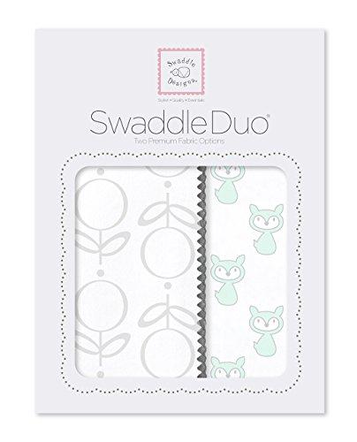 SwaddleDesigns Muselina Swaddling Mantas/Premium algodón