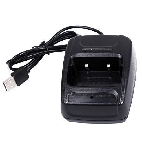 Mengshen Baofeng Desktop Charger with USB Plug USB Kabel Charger Tischladegerät for BF 888S 777S 666S H777 / R888s Plus Radio Walkie-Talkie Transceiver Funkgeräte BF-888S_C4