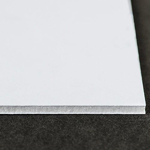 Gatorfoam:Stabiles, schweres Schaumstoff-Board:5mm :45x 60cm