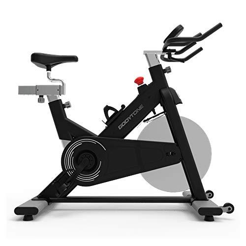BT BODYTONE Bicicleta de Spinning DS-20 con Volante de Inercia de 22kg y Consola