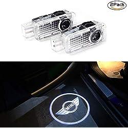 2 pièces porte de voiture lumières de voiture lumière LED fantôme Ombre lumière Logo