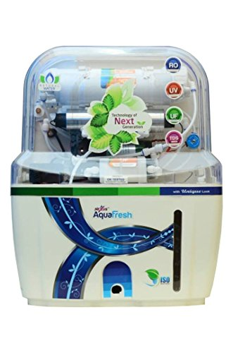 Aqua Fresh Splash water tech 14Stage Advanced Mineral Technology Ro Uv Uf Minerals Tds Adjuster Ro Water Purifier  available at amazon for Rs.5100
