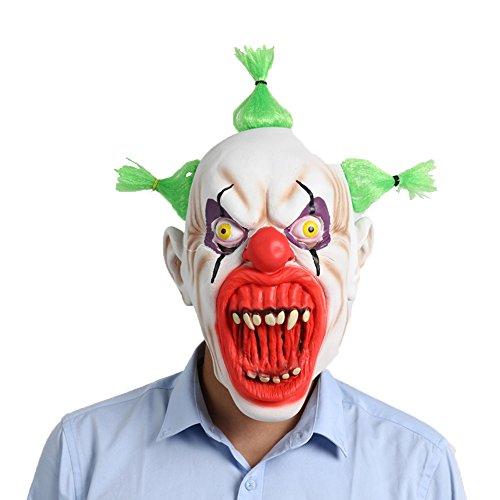 WYDM Halloween Party Supplies Latex Maske Blut Mund Clown Maske Halloween Horror Grimasse