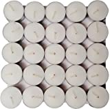 #9: WebelKart Wax Tea Light Candle (White, Set of 50, 4 Hours Burn Time)