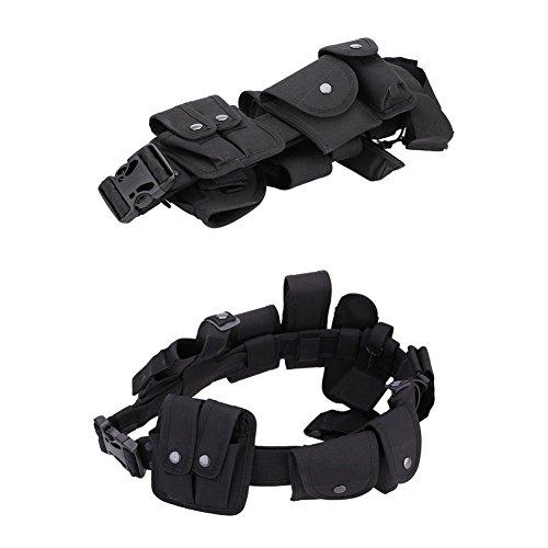 Etophigh Taktische Jagdgürtel Rechts/Links Taktische Universal-Bauchband Glock 17 19 22-Serie und die meisten Pistolen-Pistolen 2 in 2 Combo -