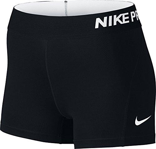 Nike Pro 3 Cool Pantalones Cortos Deportivos, Mujer, Multicolor (Black