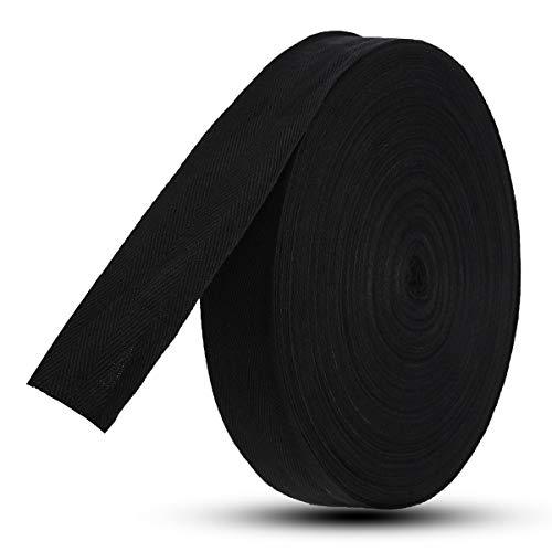 TuToy 45M Baumwollband-Webbing Bag Binding Belt Fabric Strap Sewing Roll Für Bunting Apron Bag Belt - 4Cm