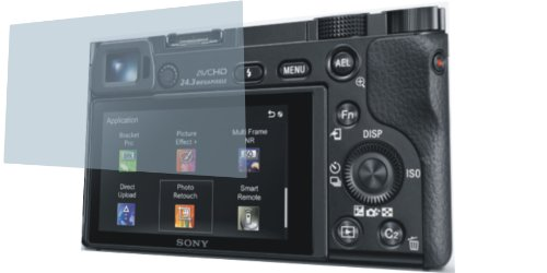 2x Crystal clear klar 3D Touch Schutzfolie für Sony Alpha 6000 Premium Displayschutzfolie Bildschirmschutzfolie Display Schutz Glas Schutzhülle Displayschutz Displayfolie Folie