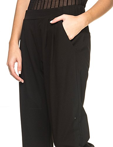 Minimum Women's Sofja 127 Casual Women's Casual Pant In Black Black
