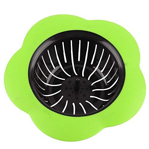 FTVOGUE Sink Sieb Blume geformt Kunststoff Becken Sieb Ablaufstopfen Küche Badezimmer Badewanne Waschbecken Zubehör(02)
