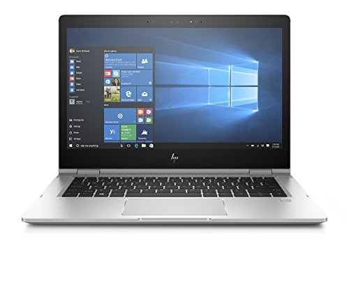 "HP Elitebook X360 1030 G2 Notebook PC Convertibile, Intel Core I7-7600U, RAM 16 GB, Display 13.3"" UHD Touch, SSD da 512 GB, 4G LTE, Argento"