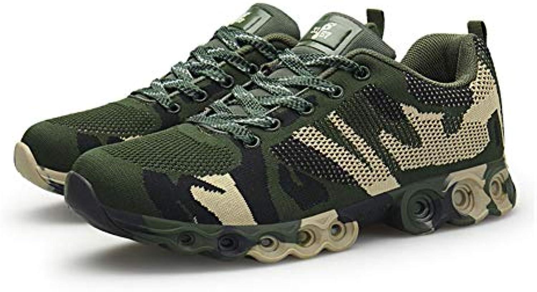 WYX 2019 Nuovo Uomo scarpe da ginnastica, Camouflage Mesh Scarpe Coreano Scarpe Sport Scarpe Mens Volare Tessuto all'aperto... | Pacchetti Alla Moda E Attraente  | Sig/Sig Ra Scarpa