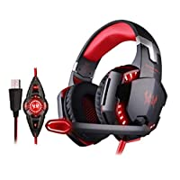 KOTION EACH Vibration Gaming Headset 7.1 PC casque Gaming Gamer Headset Surround 7.1 Headphone G2200