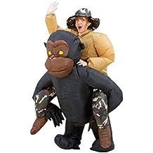 Disfraz de mono hinchable adulto Única