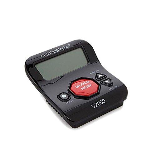 CPR V2000 Call Blocker - Blocca chiamate indesiderate con un pulsante (2000 numeri fastidiodi pre-impostatii)