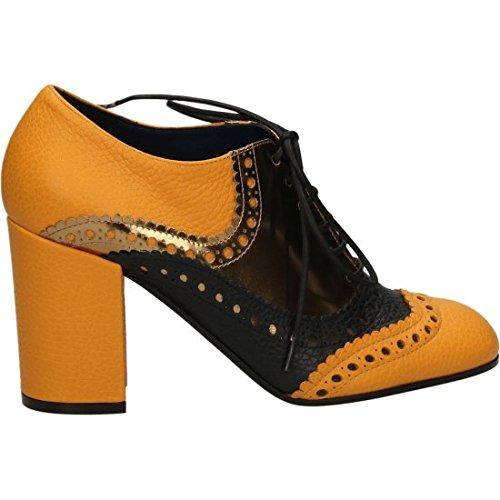 STUDIO POLLINI , Chaussures de sport d'extérieur pour femme Jaune ocre 36 Ocre