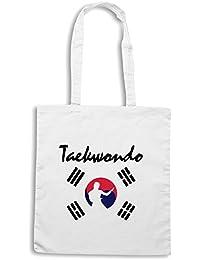 T-Shirtshock - Bolsa para la compra TBOXE0002 Ash-taekwondo