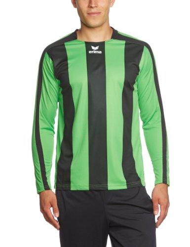 erima Kinder Trikot Siena langarm, green/schwarz, 152, 314906 (Kurzarm-volleyball Trikot)