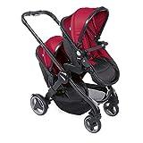 Chicco Kinderwagenaufsatz Fully Twin passion red