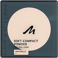Manhattan 21000070001, Manhattan 16918 Soft Compact Powder 1 Natural (Beauty)