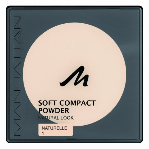 Manhattan 16918 Soft Compact Powder 1, naturelle