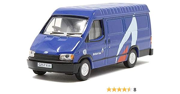 Oxford Die Cast Ford Transit Mk3 British Gas Spielzeug