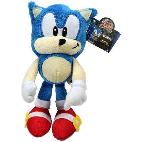 Peluche Sonic the Hedgehog 20 Aniversario 18cm [Sonic clásico]