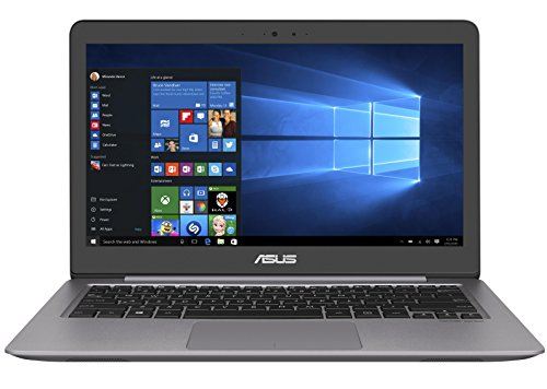 Asus Zenbook UX310UA-FC694T 33,7cm (13,3 Zoll mattes FHD) Notebook (Intel Core i5-7200U, 8GB RAM, 256GB SSD, Intel HD Graphics, Win10) grau