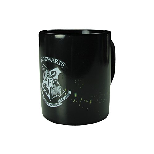 Harry Potter Hogwarts Calor Cambio Taza, Cerámica, Multicolor, 8x 12x 10cm