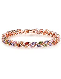 Yellow Chimes Non Precious Metal Bracelet for Women (Multi-Colour)(YCMCBR-LF-007550MC)