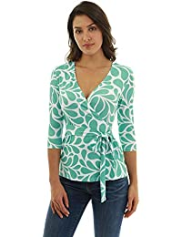 a44325edf4b Amazon.fr   Turquoise - Chemisiers et blouses   T-shirts