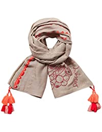 Desigual Damen Schals Foulard_slim Rectangle Pixie