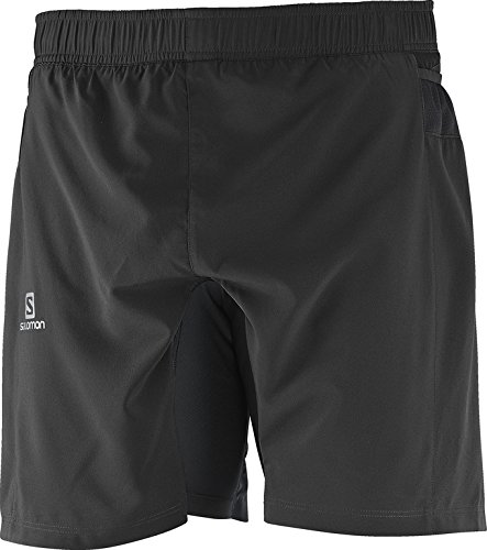 Salomon Fast Wing Tw M, Shorts für Herren L Black (Schwarz) Salomon Shorts