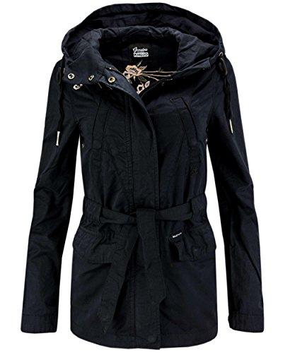 Khujo Damen Trench Coat