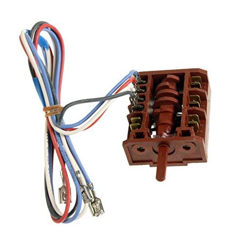 6 Hitze-schalter (Electrolux Backofen Herd Herd Schalter 6Hitze Draht)